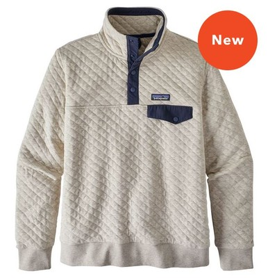Patagonia Women S Organic Cotton Quilt Snap T 174 Pullover