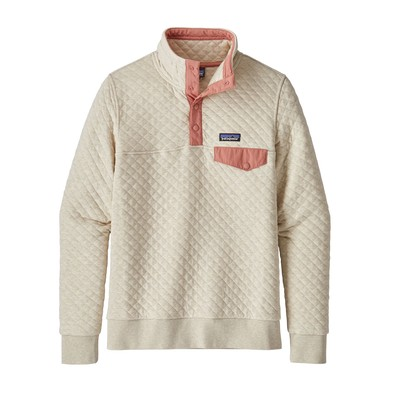 Women's Organic Cotton Quilt Snap-T® Pullover