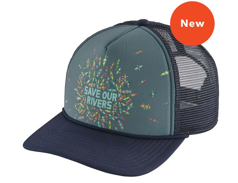 Patagonia Save Our Rivers Interstate Hat  1bc2e9de137