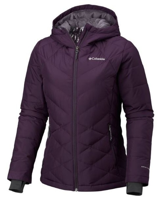 Columbia WOMEN'S HEAVENLY™ HOODED JACKET - PLUS SIZE