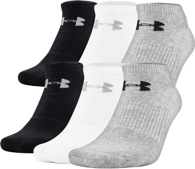 Men's UA Charged Cotton 2.0 No Show Socks
