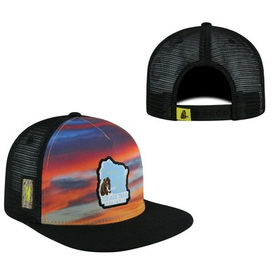 ICE AGE TRAIL ALLIANCE SNAPBACK THREE-TONE SKYLINE 1