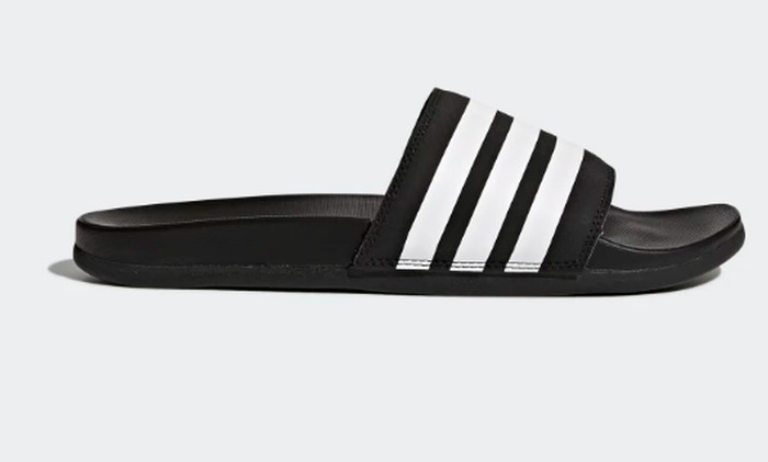 super popular ee0a1 c35ef Adidas ADILETTE CLOUDFOAM PLUS STRIPES SLIDES - MEN S adidas slides men