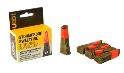 STORMPROOF SWEETFIRE - STRIKEABLE MATCHES - 8 PACK