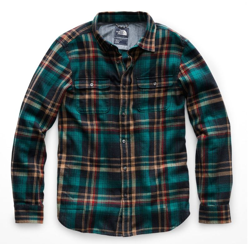 84c8e3924 The North Face MEN'S LONG-SLEEVE ARROYO FLANNEL