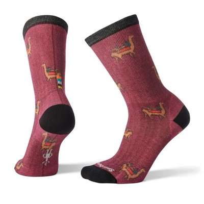 Women's Curated Llama Adventures Crew Socks