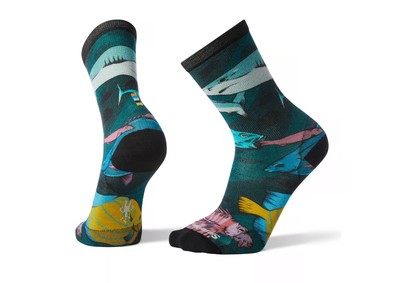 Men's Curated Something's Fishy Crew Socks