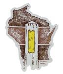 Seek Dry Goods Ice Age Trail 'Yellow Blaze' Sticker
