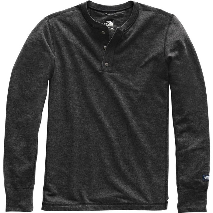 The North Face Men's Long-Sleeve TNF Terry Henley