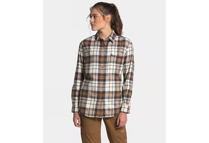 The North Face Women's Berkeley L/S Boyfriend Shirt