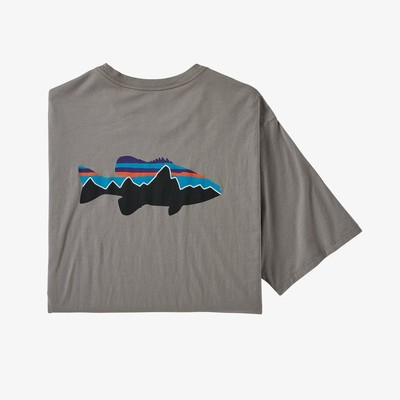 Men's Fitz Roy Smallmouth Organic Cotton T-Shirt