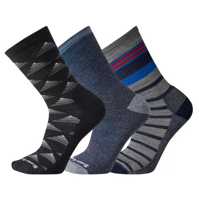 Hike Light Cushioned Socks Trio Gift Box
