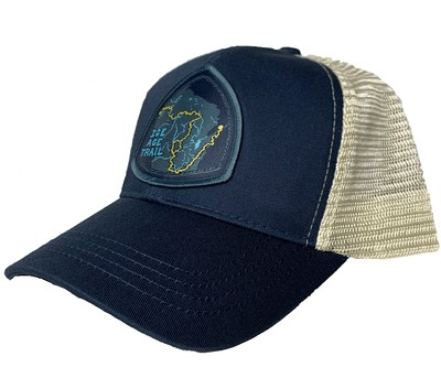Ice Age Trail - Trail Map Trucker Hat