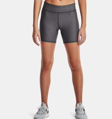 Women's HeatGear® Armour Mid-Rise Middy Shorts