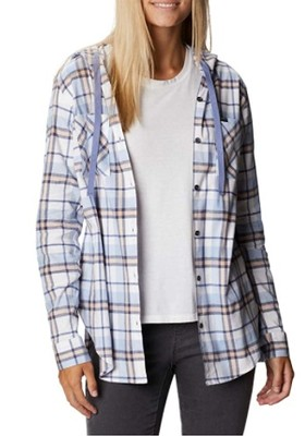 Women's Anytime Stretch Hooded Long Sleeve Shirt