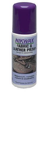 Nikwax Fabric and Leather Spray Waterproofing
