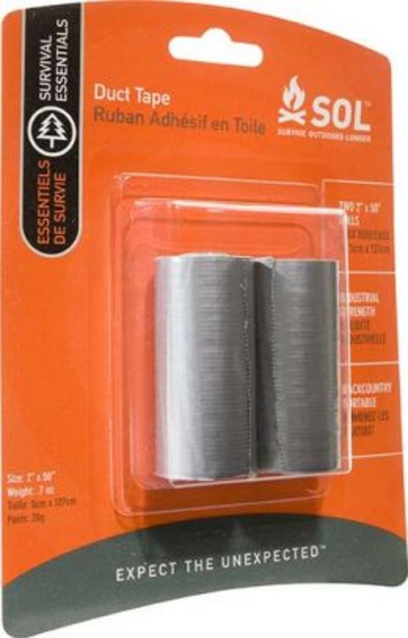 Sol Duct Tape 2 in. x 50 in. Rolls (x2)