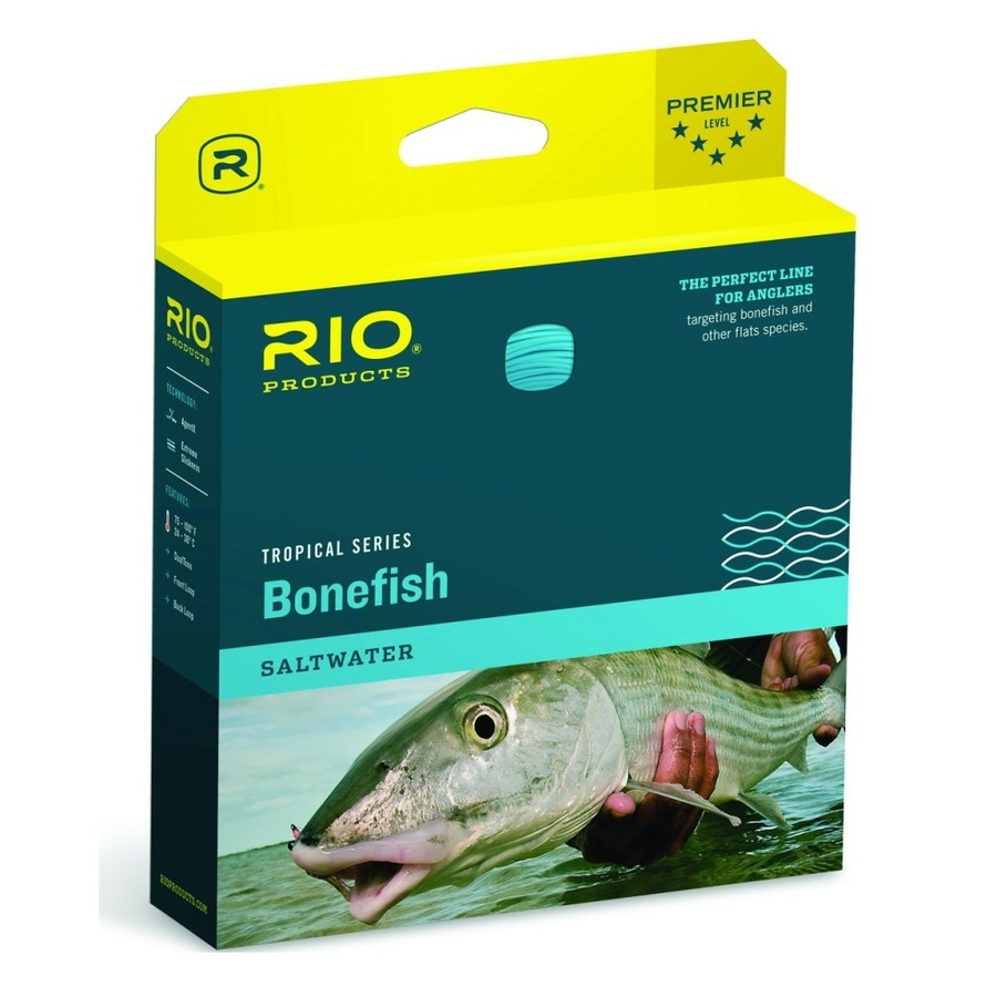Rio Products Bonefish Fly Line WF9F Sand/Blue