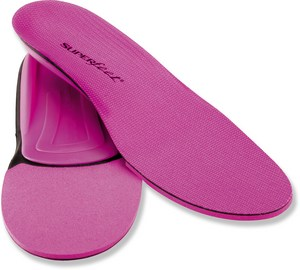 Women`s Trim To Fit Berry Insoles