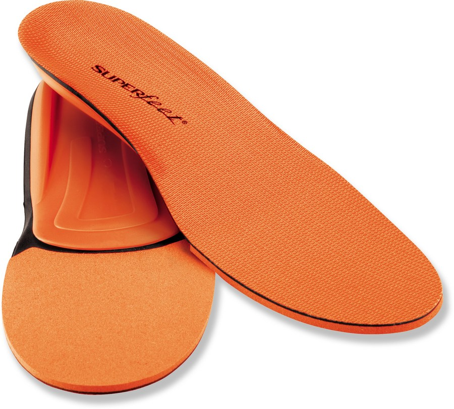 Superfeet Men's Trim To Fit Orange Insoles