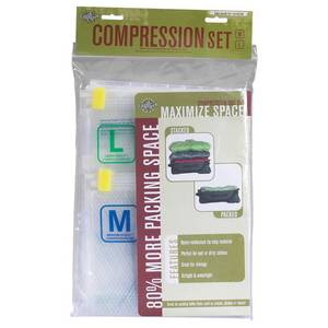 Pack-It Compression Sac Set - Med/Large
