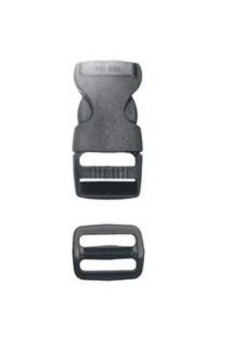 Liberty Mountain 1 inch Side Release Buckle w/Slider