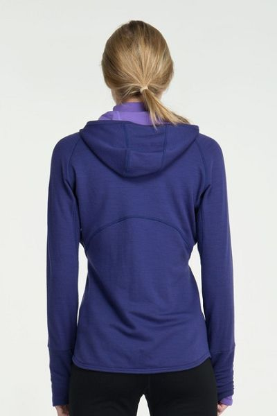 0042dcf7cb Icebreaker Women's Quantum Long Sleeve Zip Hood | Fontana Sports
